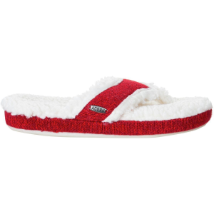 Acorn Thong Ragg Slipper - Women's