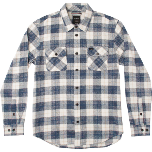 RVCA Lowland Long Sleeve Flannel Shirt Men's