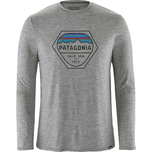 Patagonia Capilene Daily Long Sleeve Graphic T Shirt Men's