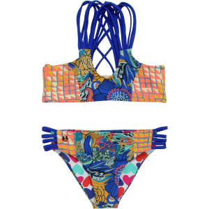 Maaji Psychodelic Twist Swimsuit Girls'