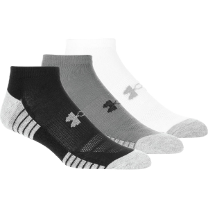Under Armour HeatGear Tech No Show Sock 3 Pack