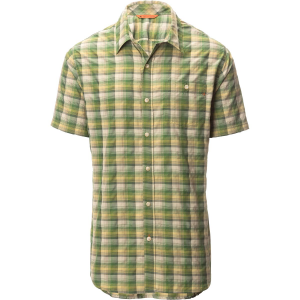 Basin and Range Notch Peak Performance Plaid Short Sleeve Shirt Men's
