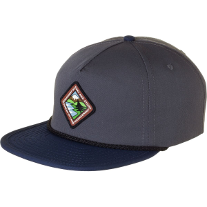 Hippy Tree Land Snapback Hat