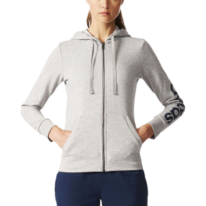Adidas Essentials Linear Full Zip Hoodie Womens