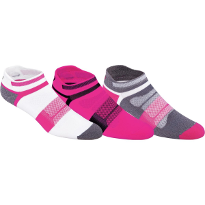 Asics LightweQuick Lyte Cushion Single Tab Lightweight Running Socks 3 Pack Women's