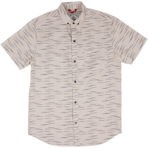 Iron and Resin Linear Shirt Short Sleeve Men's