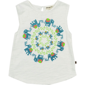 Appaman Elephant Trail Samet Tank Top Toddler Girls'