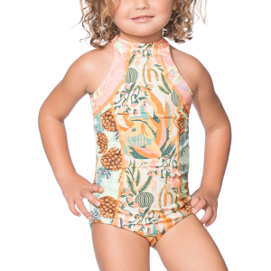 Maaji Hello Cactus One Piece Swimsuit Girls'