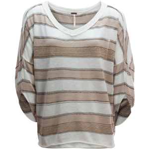 Free People Love Me Too V Neck Sweater Women's