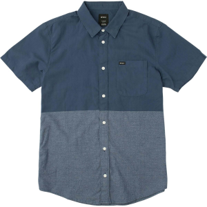 RVCA Big Block Shirt Short Sleeve Men's