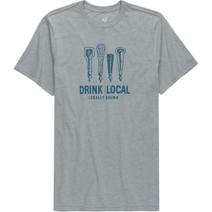 Image of Locally Grown Drink Local Beer Taps T-Shirt - Men's