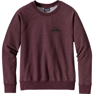 Patagonia Small Flying Fish Midweight Crew Sweatshirt - Women's