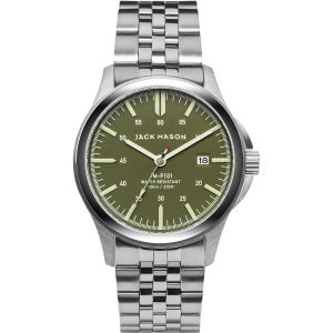 Image of Jack Mason F101 Field Collection Stainless Steel Watch