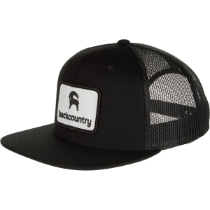 Image of Backcountry Flat Brim Patch Trucker Hat
