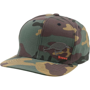 Simms Cotton Twill Snapback Hat