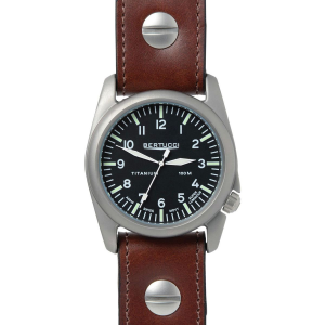 Image of Bertucci Watches A-4T Aero Leather Watch