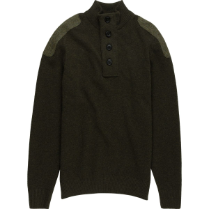 Image of Barbour Charlock Half Button Sweater - Men's