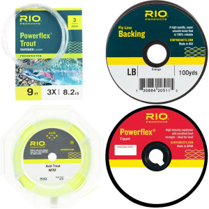 RIO RIO Line, Leader, Tippet Package