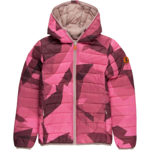 Save The Duck Marc Printed Hooded Coat - Girls'