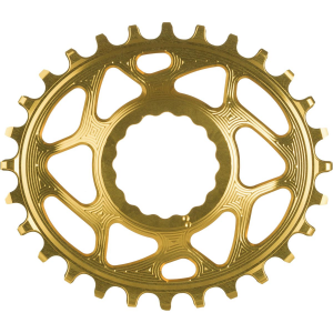 Image of Absolute Black Race Face Oval Cinch Direct Mount Traction Chainring