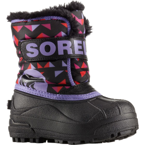 Sorel Snow Commander Print Boot - Little Girls'