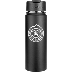 Backcountry Medallion Logo Hydro Flask Water Bottle - 20oz