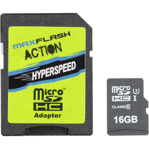 Maxflash Action Hyperspeed Micro SDHC - 16GB