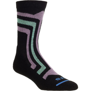 FITS Light Printed Hiker Crew Socks