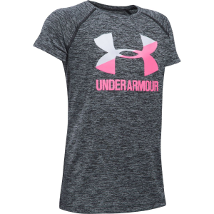 Under Armour Novelty Big Logo Short-Sleeve T-Shirt - Girls'