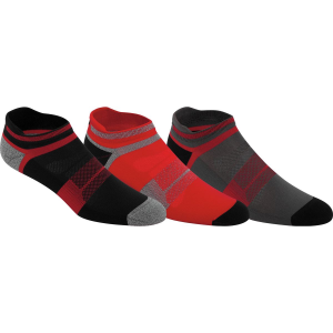 Asics Quick Lyte Cushion Single Tab Lightweight Running Socks - 3-Pack