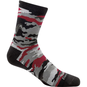 Darn Tough Camo Micro Crew Light Socks - Boys'