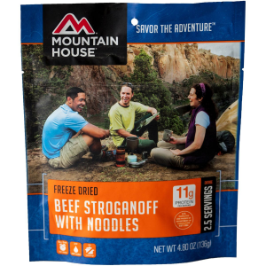 Image of Mountain House Beef Stroganoff - 2.5 Serving Entree