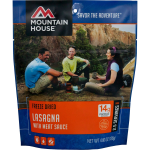 Mountain House Lasagna with Meat Sauce - 2.5 Serving Entree