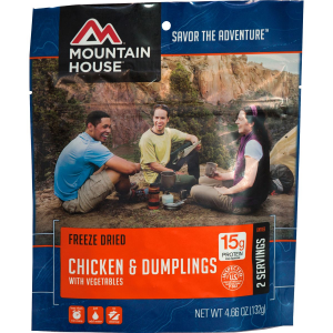 Image of Mountain House Chicken & Dumplings - 2 Serving Entree