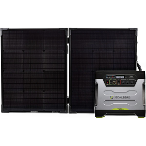 Goal Zero Yeti 1250 with Boulder Briefcase Solar Kit