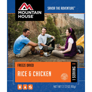 Image of Mountain House Rice & Chicken - 1 Serving Entree