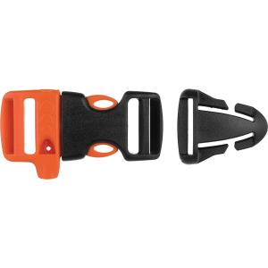 Gear Aid Whistle Sternum Strap Buckle Kit with Quick Attach T-Glide