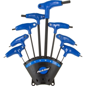 Park Tool PH-1.2 P-Handled Hex Wrench Set with Holder - 8pc