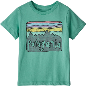 Patagonia Fitz Roy Skies Organic T-Shirt - Toddler Girls'