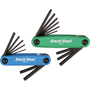 Park Tool FWS-2 Fold-Up Hex and Torx Wrench Combo Set