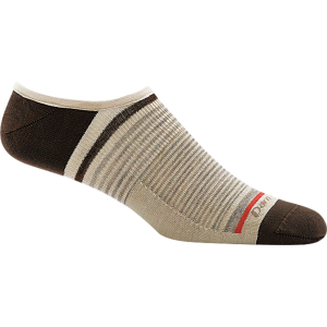 Darn Tough Topless Stripe No Show Light Sock - Men's