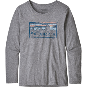 Patagonia Graphic Organic Long-Sleeve T-Shirt - Girls'