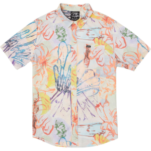 RVCA Vaughn Floral Short-Sleeve Shirt - Men's