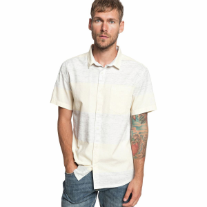 Quiksilver Bars Need Guitars Button-Down Shirt - Men's