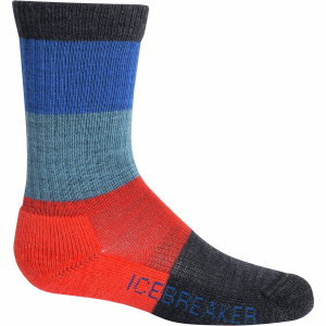 Icebreaker Hike Light Cushion Crew Sock - Kids'