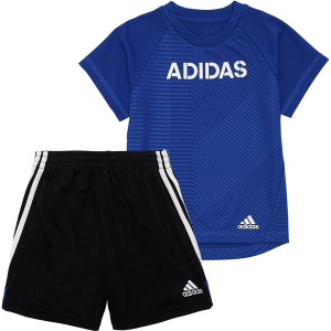 Adidas Flag Strong Short Set - Infant Boys'