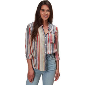 Dylan Summertime Stripes Classic Stripe Shirt - Women's