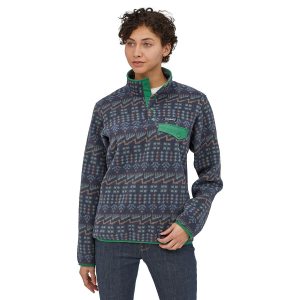 Patagonia Synchilla Lightweight Snap T Fleece Pullover Womens