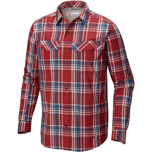Columbia Silver Ridge Plaid Shirt Long Sleeve Mens