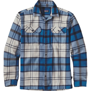 Patagonia Fjord Flannel Shirt Long Sleeve Mens